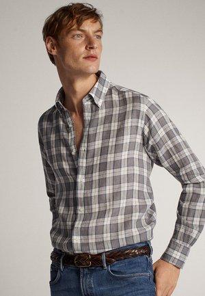 MIT KAROMUSTER - Shirt - grey