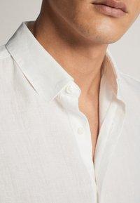 Massimo Dutti - SLIM-FIT - Koszula - white - 5