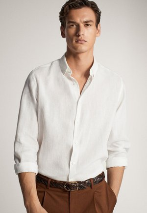 SLIM-FIT - Camicia - white