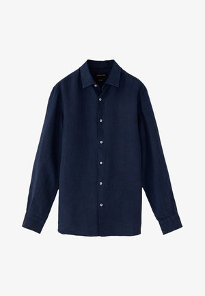 Shirt - blue/black denim