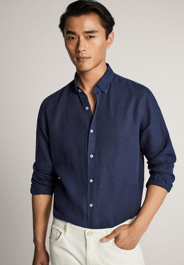 SLIM-FIT - Shirt - blue/black denim