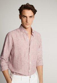 Massimo Dutti - Overhemd - red - 3