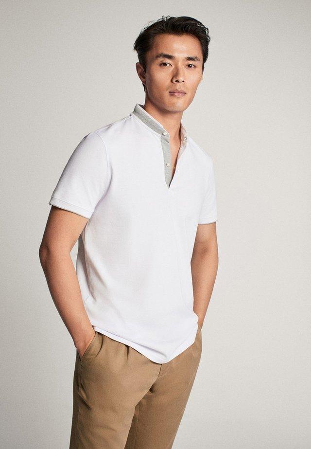 MIT MAOKRAGEN - T-shirt con stampa - white