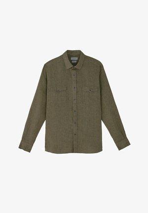 MIT ZWEI TASCHEN - Overhemd - evergreen