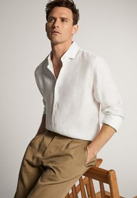Massimo Dutti - IM SLIM-FIT  - Shirt - white - 6