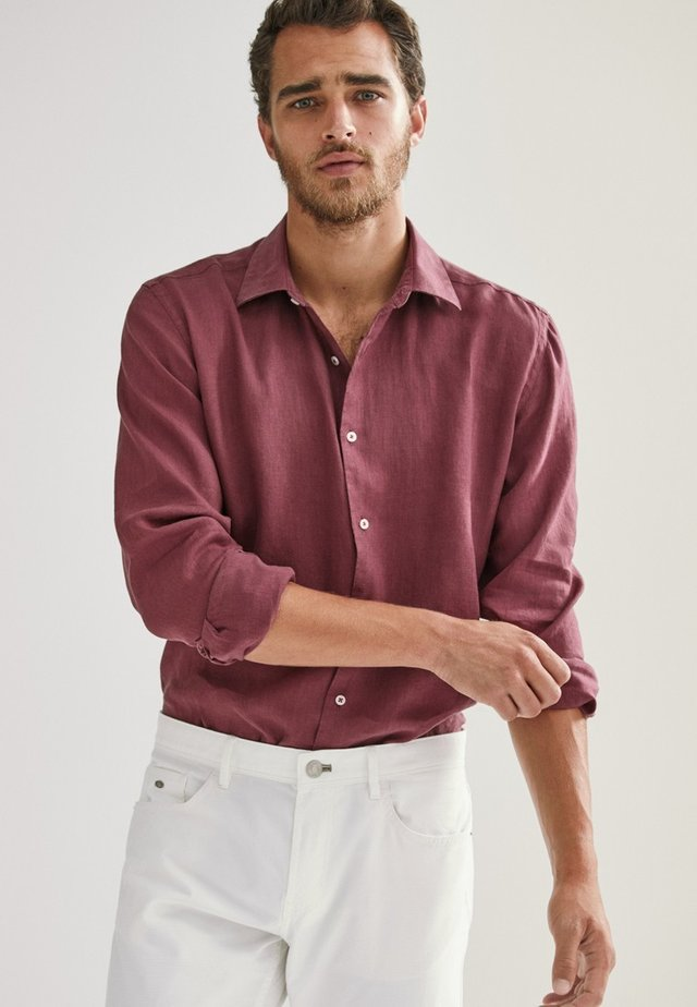 SLIM-FIT - Shirt - bordeaux