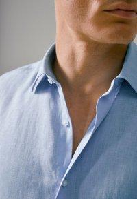 Massimo Dutti - SLIM-FIT - Shirt - blue - 4