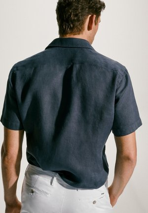 Skjorter - blue-black denim