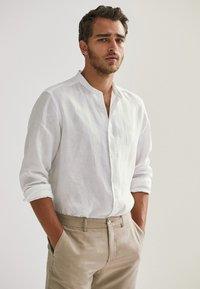 Massimo Dutti - Skjorta - white - 0