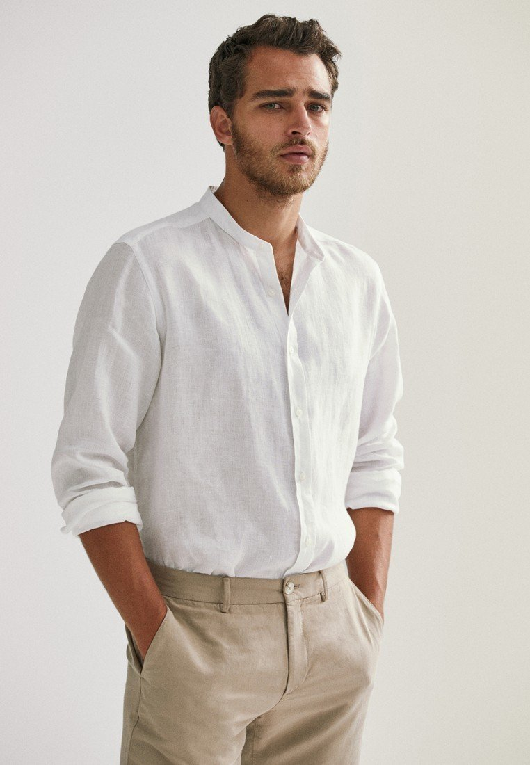 Massimo Dutti - Skjorta - white