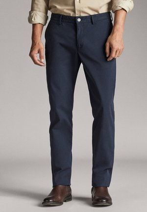 AUS FUNKTIONSSTOFF - Chino - dark blue