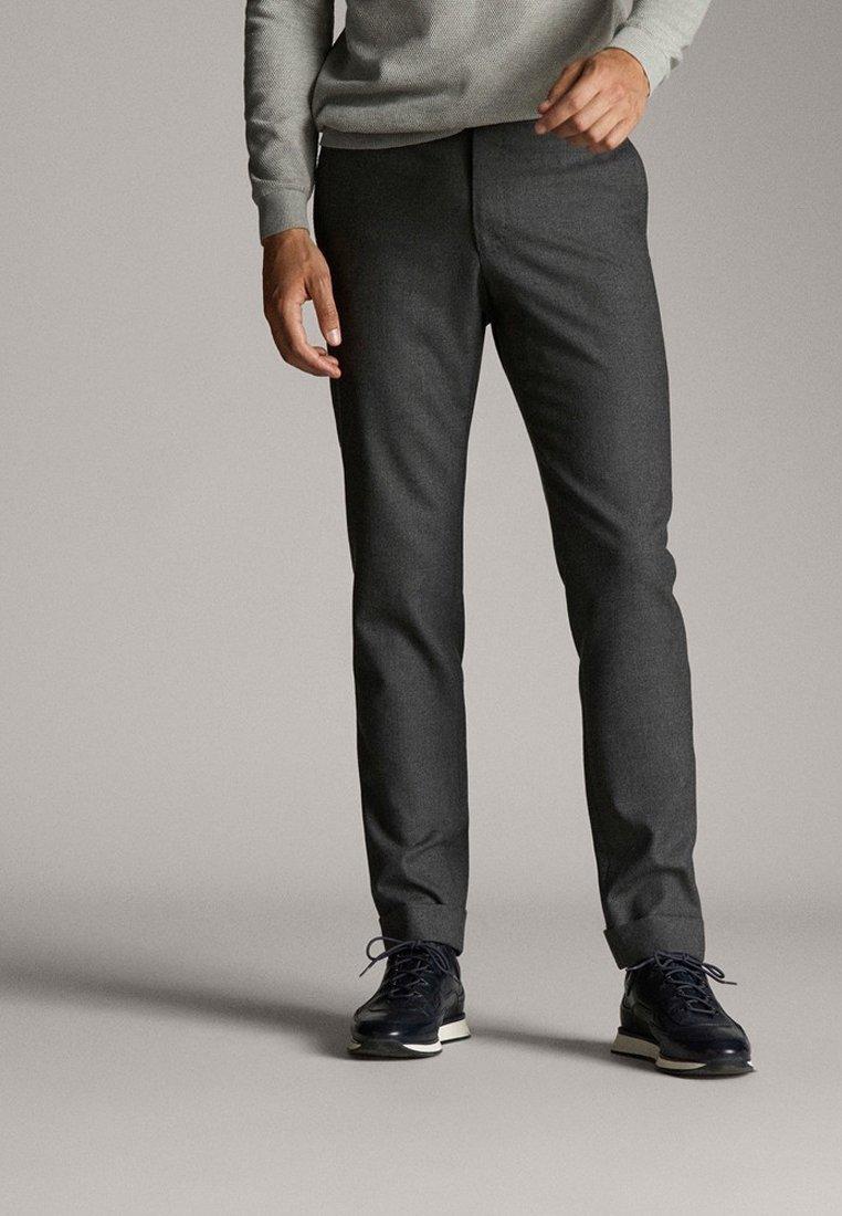 Massimo Dutti - Spodnie materiałowe - dark grey