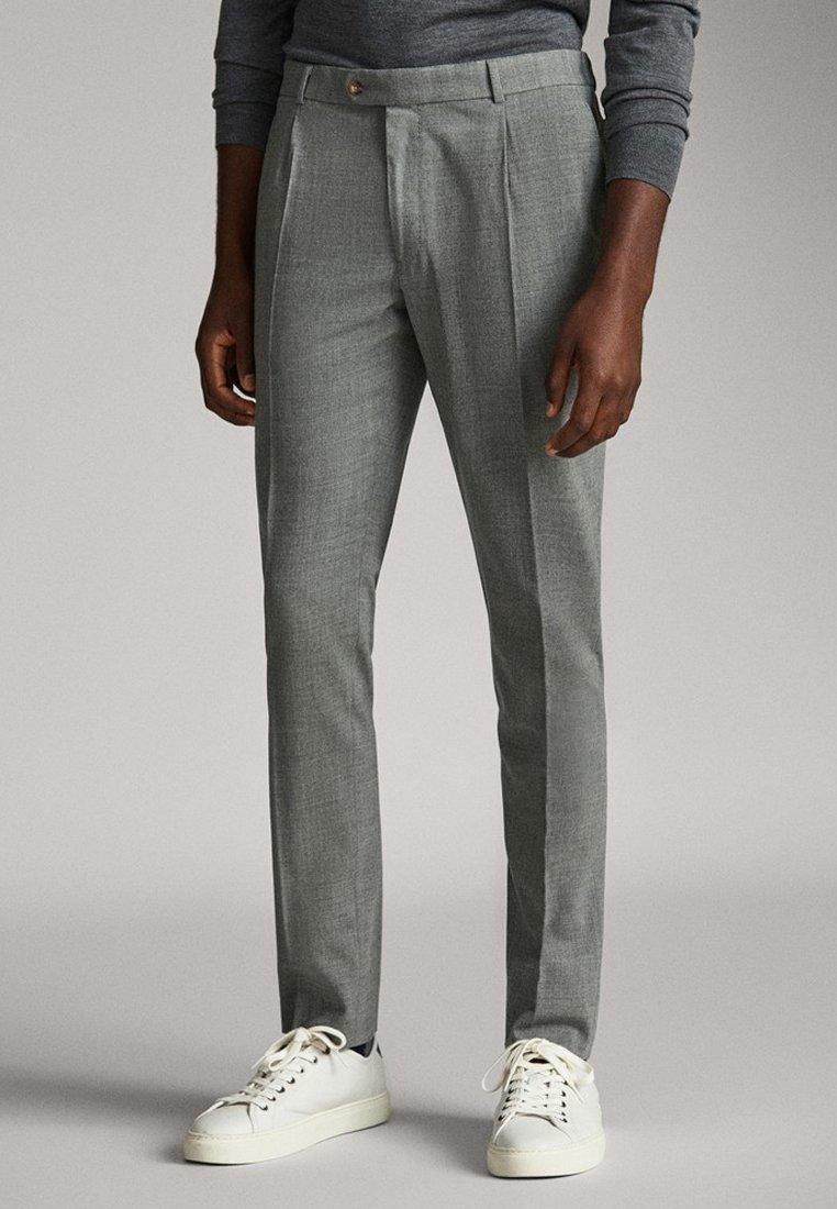 Massimo Dutti - Pantalon classique - gray