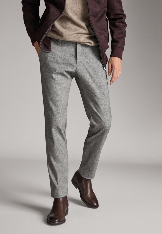 Massimo Dutti - OXFORD - Chino - dark grey