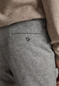 Massimo Dutti - OXFORD - Chino - dark grey - 4