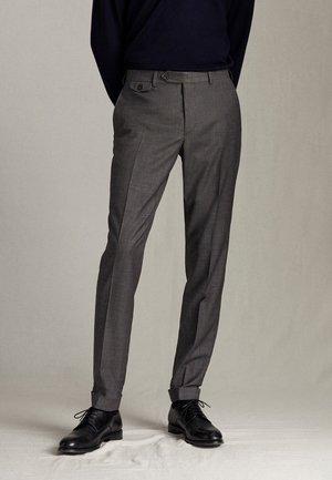 HOSE AUS WOLLE IM CITY-SLIM-FIT 00077313 - Pantaloni eleganti - grey