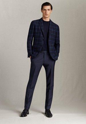 HOSE AUS WOLLE IM CITY-SLIM-FIT 00077313 - Suit trousers - blue
