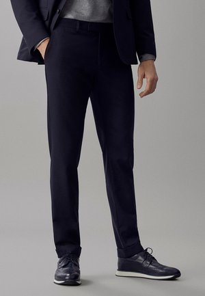Spodnie garniturowe - blue-black denim