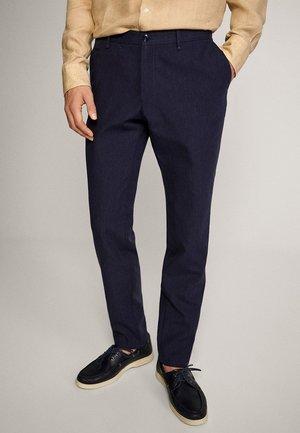 SLIM-FIT - Pantaloni - blue-black denim
