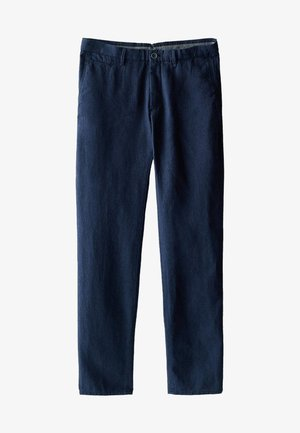 SLIM-FIT - Pantalon classique - blue-black denim