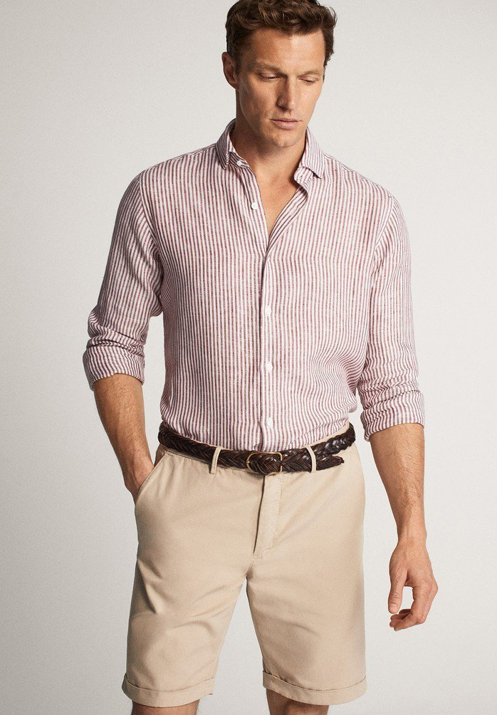 Massimo Dutti - Shorts - beige