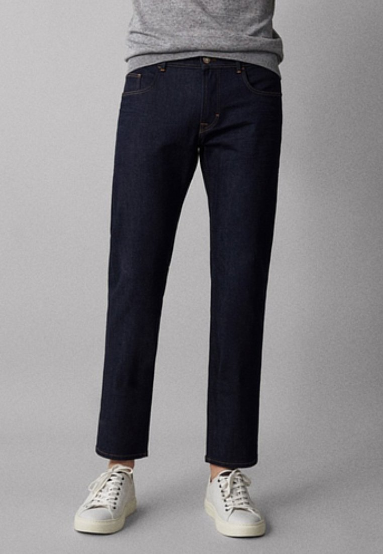 Massimo Dutti - ENTBASTETE - Jeans Straight Leg - blue