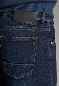 Massimo Dutti - STONE - Slim fit jeans - blue - 5
