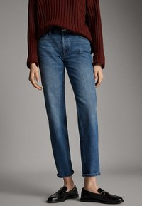 Massimo Dutti - Straight leg jeans - blue - 0