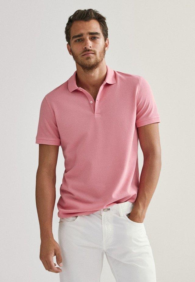 Koszulka polo - neon pink