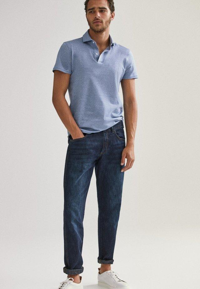 KURZÄRMELIGES  - Poloshirt - blue