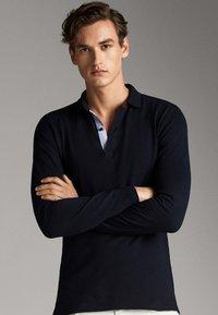 Massimo Dutti - Polo - dark blue - 5