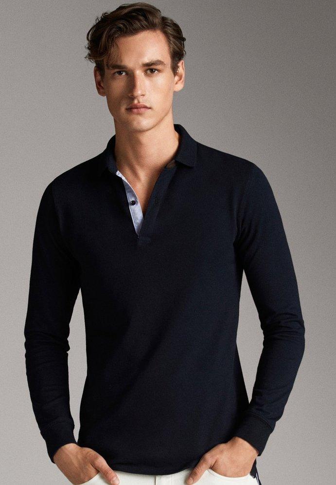 Massimo Dutti - Poloshirt - dark blue