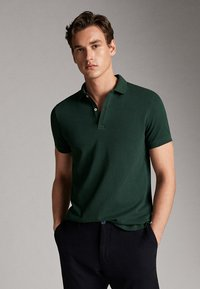 Massimo Dutti - Polo shirt - green - 4