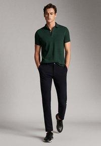 Massimo Dutti - Polo shirt - green - 1