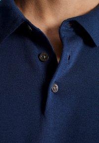 Massimo Dutti - Polo - blue - 4