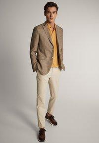 Massimo Dutti - Polo - brown - 1