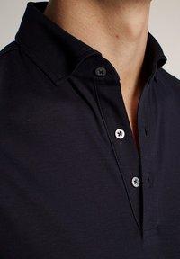 Massimo Dutti - LONGSLEEVE - Piké - blue-black denim - 4
