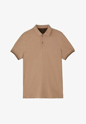 MIT DOPPELKRAGEN - Koszulka polo - light grey