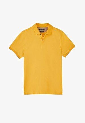 MIT DOPPELKRAGEN - Polo - yellow