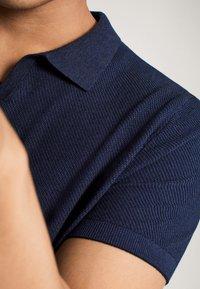 Massimo Dutti - Polo - blue-black denim - 5