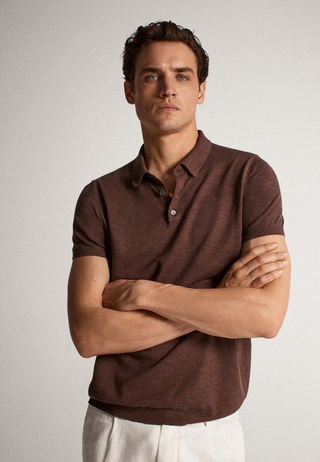Polo shirt - brown