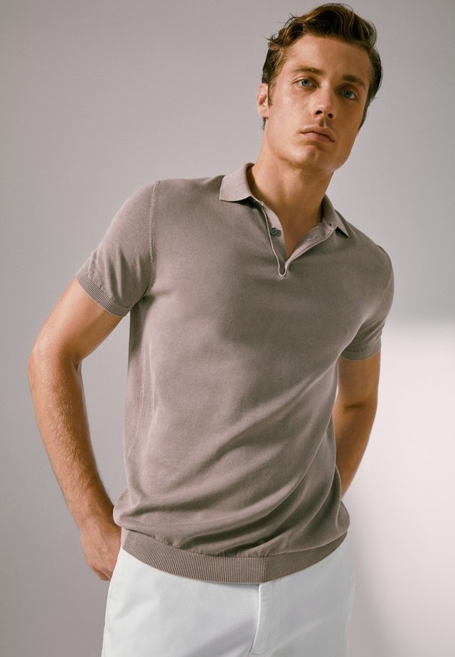 Poloshirts - beige