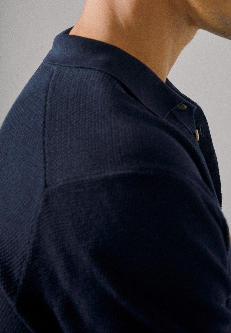 Massimo Dutti Poloshirts - Blue-black Denim