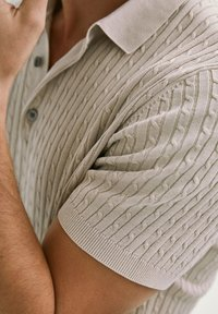 Massimo Dutti - Polo shirt - beige - 5