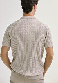 Massimo Dutti - Polo shirt - beige - 1