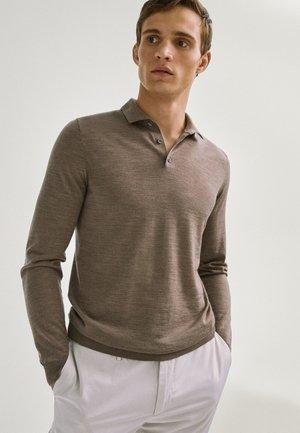 Polo shirt - light grey