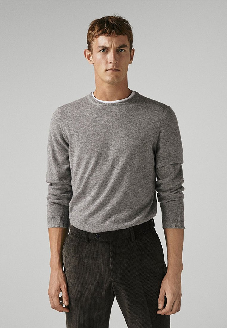 Massimo Dutti - CAMPAIGN COLLECTION - Strickpullover - grey