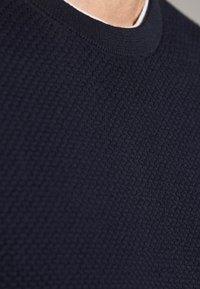 Massimo Dutti - MIT STRUKTURMUSTER  - Jumper - dark blue - 5