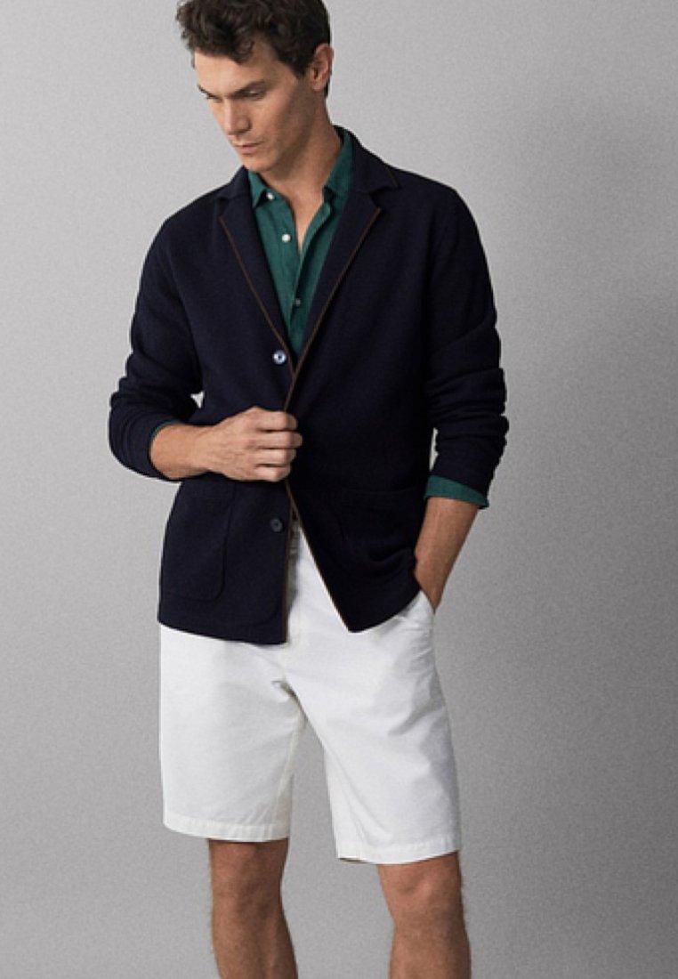 Massimo Dutti - Strikjakke /Cardigans - dark blue