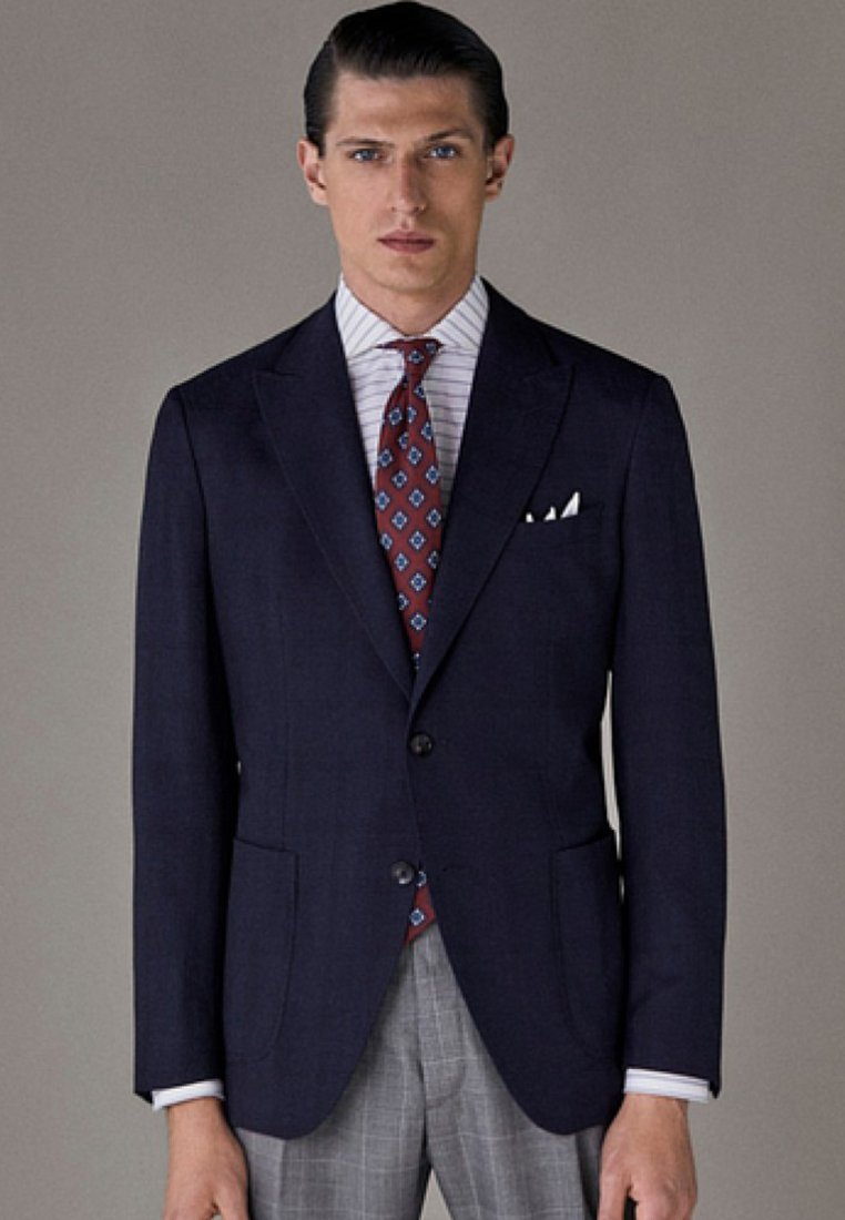 Massimo Dutti - Blazer jacket - dark blue